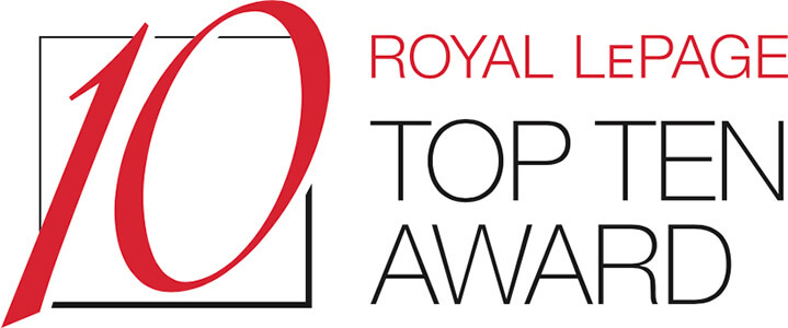 Royal LePage Top Ten Award