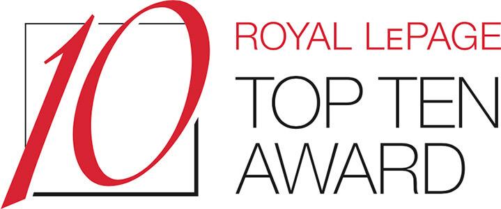 Royal LePage Top Ten Award