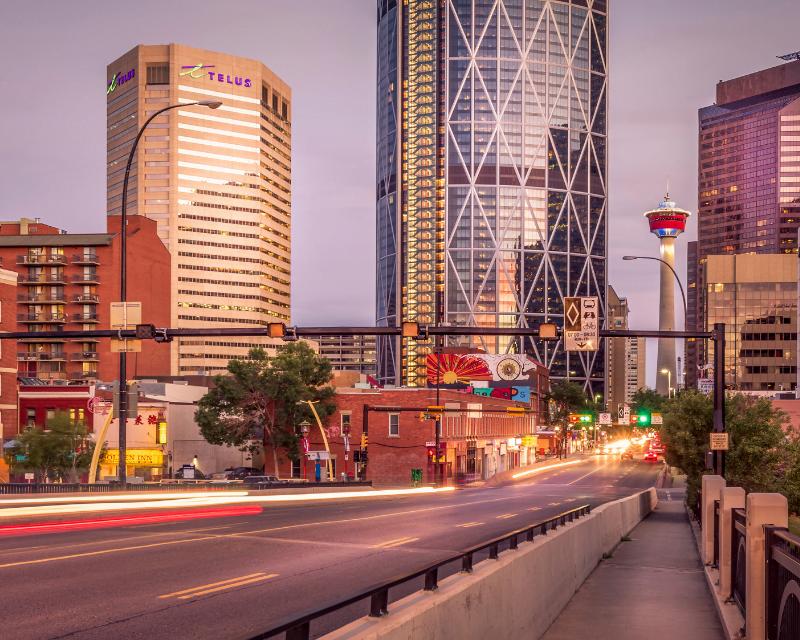 Chinatown Calgary Alberta